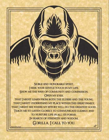 Gorilla Prayer