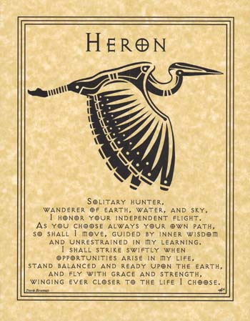 Heron Prayer