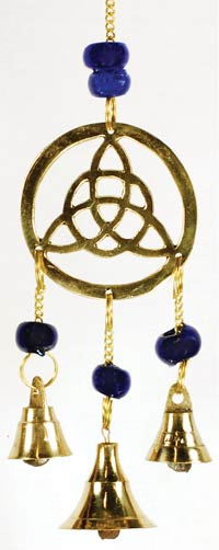 Three Bell Triquetra wind chime