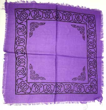 Celtic altar or tarot cloth
