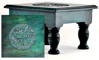Greenman altar table 8""