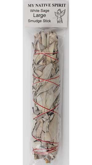 California White Sage Smudge 8""
